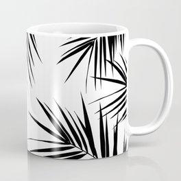 Palm Leaves Cali Finesse #3 #BlackWhite #tropical #decor #art #society6 Coffee Mug