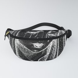 Crying Virgin Inverted Fanny Pack