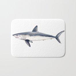 Porbeagle shark (Lamna nasus) Bath Mat