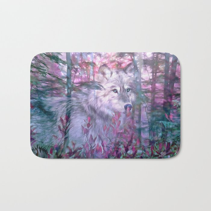 Forest Ghost Bath Mat