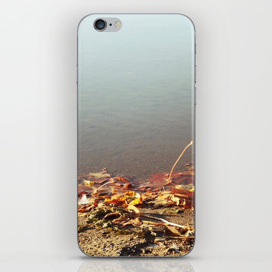 Autumn by the water iPhone & iPod Skin