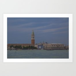 St Mark's Square, Venice, Italy Art Print