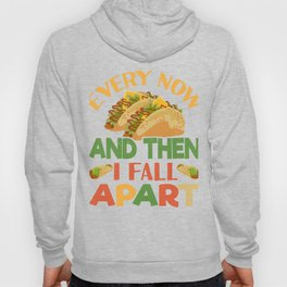 Taco Funny Mexican Food Feista Cinco De Mayo Hoody