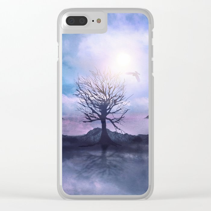 Messages from the Sun Clear iPhone Case