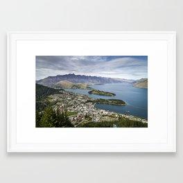 Queenstown NZ Framed Art Print