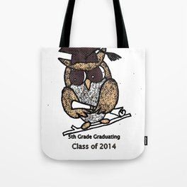 Oak Meadows Owls - Class of 2014 Tote Bag
