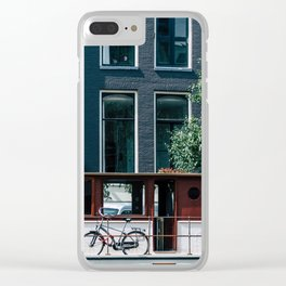 A Day in Amsterdam Clear iPhone Case