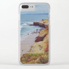 La Jolla Shores Clear iPhone Case