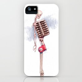 Mick Microphone iPhone Case
