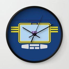 Soundwave Transformers Minimalist Wall Clock