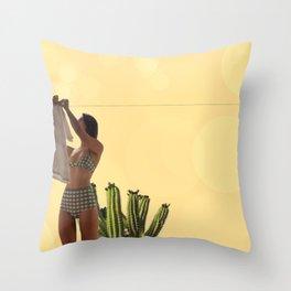 I love you sun Throw Pillow