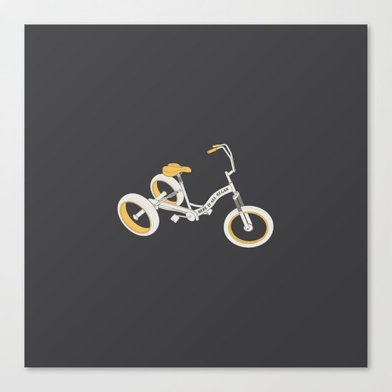 tricycle 03 Canvas Print