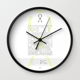 ASCII Ribbon Campaign against HTML in Mail and News – White Wall Clock