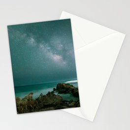 Milky way in the sky of Sardinia Stationery Cards