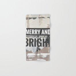 Snowfall - merry and bright Hand & Bath Towel