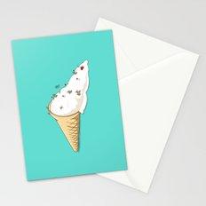 Ant Ski Stationery Cards