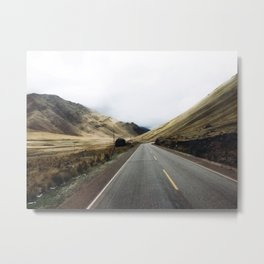 Peruvian adventures. Metal Print