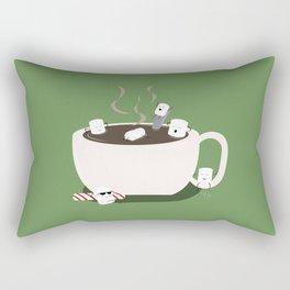 Marshmallow Hot Tub Rectangular Pillow