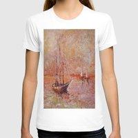 boat T-shirts featuring boat by Oksana Ivanenko