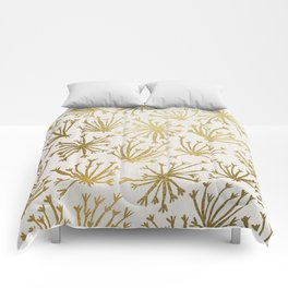 Queen Anne's Lace #2 Comforters
