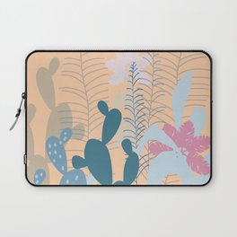 Blue Cacti Garden #Society6 #buyart #decor Laptop Sleeve