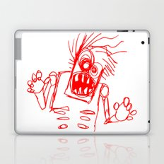 doodle zombie of the undead Laptop & iPad Skin