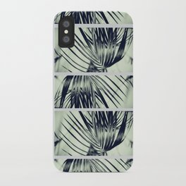 Green Palm Leaves Pattern #1 #decor #art #society6 iPhone Case