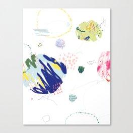 Bacteria Canvas Print