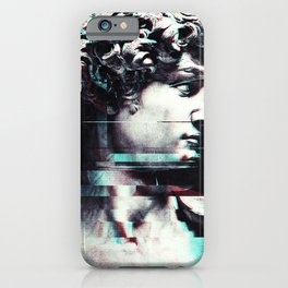 Abstract fractions of David iPhone Case