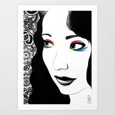 Pavlov's Daughter Art Print