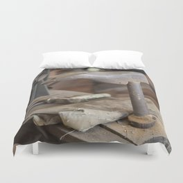 Cobblers Anvil Duvet Cover