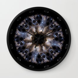 Galaxy mandala #4 Wall Clock