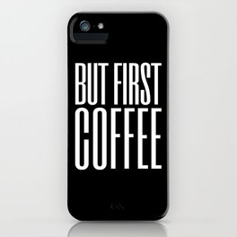 Coffee VIII iPhone Case