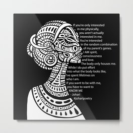 If You Want To Be With Me Metal Print