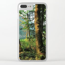 Oh the Timelessness Clear iPhone Case