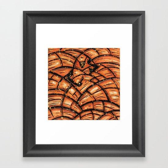 Orixás - Obá Framed Art Print