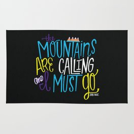 Mountains Are Calling Rug