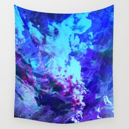Misty Eyes of Tranquility Wall Tapestry