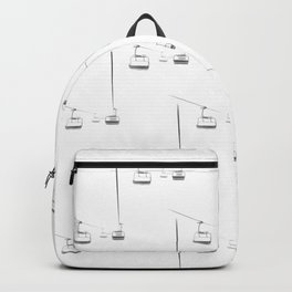 Lifts from and to nowhere Backpack