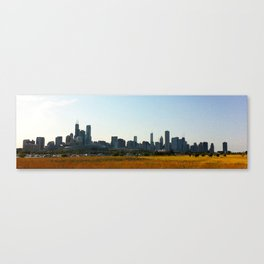View of Chicago from Northerly Island Canvas Print