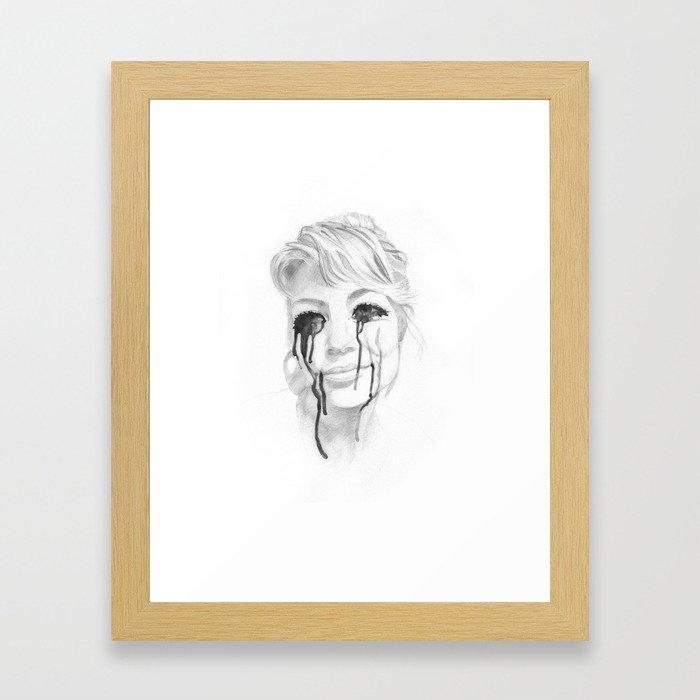 I'm Done! Framed Art Print