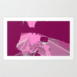 Motorcycle POP Art Print