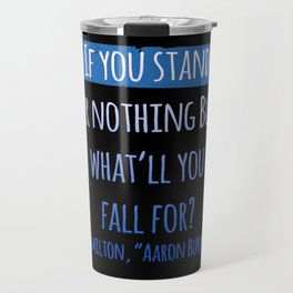 AARON BURR, SIR | HAMILTON Travel Mug