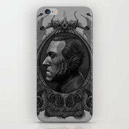 Lovecraft as Deepone iPhone Skin