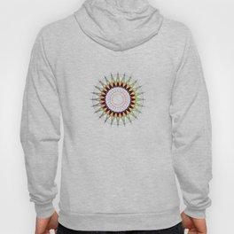 Futuristic Zen Mandala Hoody