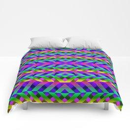 Rainbow Scaffolding Comforters
