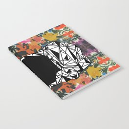 ZNH - If You Are Silent - Black Lives Matter - Series - Black Voices - Floral  Notebook