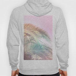 Wild palm leaves Nostalgia Hoody