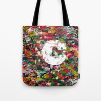 randy c Tote Bags featuring C.. by barmalisiRTB