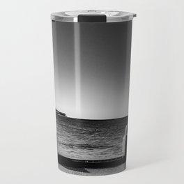 Coogee Beach - B&W Travel Mug